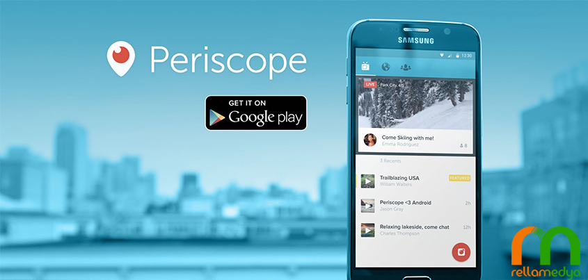 periscope androidde